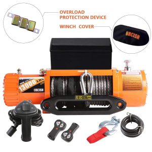 ORCISH 12V Synthetic Rope Electric Winch