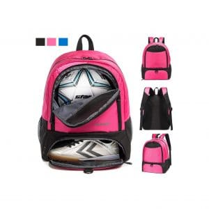 CapsLock Youth Soccer Bag Backpack
