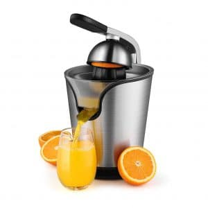 Flexzion Hand Press Electric Orange Juice Press