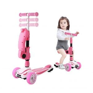Hikole 2-in-1 Scooter for Kids