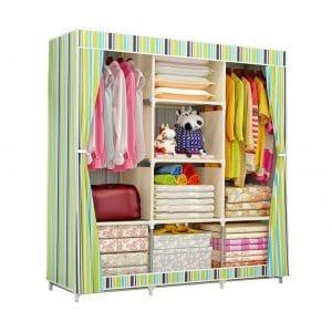 Sixclover Portable Clothes Closet