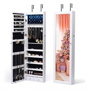 Titan Mall Jewelry Organizer 6 LEDs