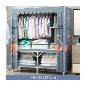 ZPEE Large Cube Portable Dust-Resistant Closet