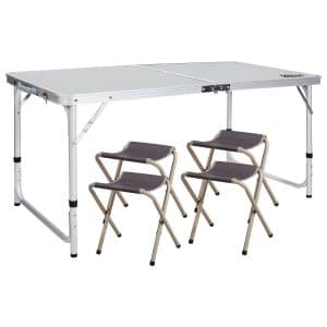 Pleasing Top 10 Best Folding Table And Chair Sets In 2019 Reviews Andrewgaddart Wooden Chair Designs For Living Room Andrewgaddartcom