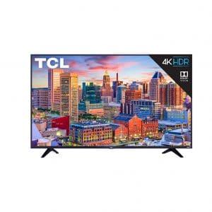 TCL 55S517 4K Roku Smart Ultra HD LED TV