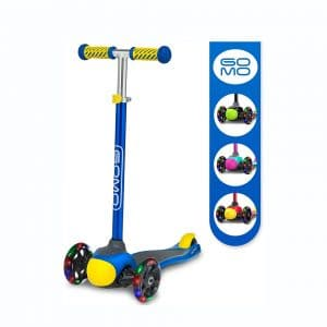 GOMO Kids Scooter Adjustable Height Scooter with 3 Wheels