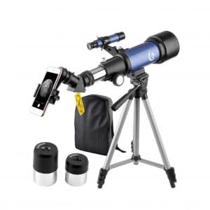 Landove 70 x 400mm Telescope for Kids