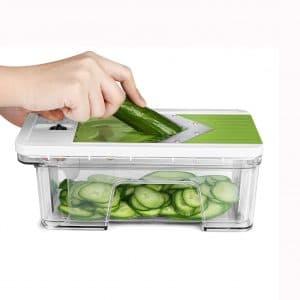 ONSON Adjustable Mandoline Vegetable Slicer
