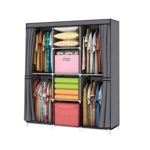 YOUUD Wardrobe Storage Closet
