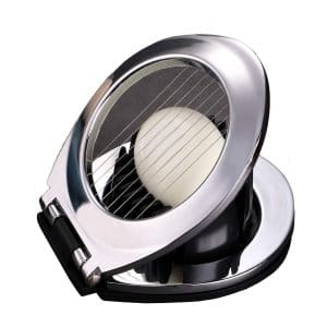 ChirRay 2 in 1 Egg Slicer Slices, Stainless Steel Construction