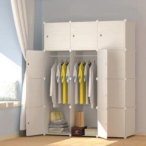 JOISCOPE MEGAFUTURE Portable Wardrobe Closet