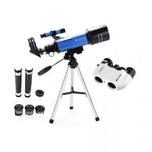 MaxUSee 70mm Refractor Telescope Travel Telescope