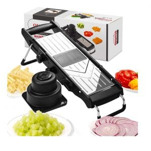 QUQIYSO Adjustable Mandoline Slicer