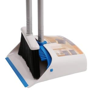 TreeLen Long Handle Dustpan and Broom Combo