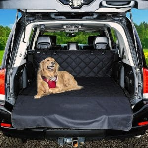 Universal Car Seat Covers for Dogs- Cargo Liner:Seat Protector for Cars, Trucks & SUVs - Waterproof, Heavy Duty Pet Carseat Cover for Back or Front Seats