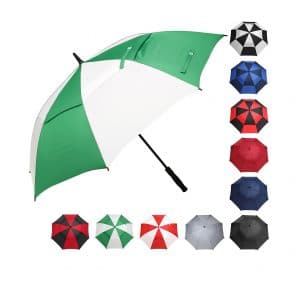 BAGAIL Oversize Double Canopy Golf Umbrella