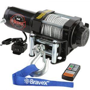 Bravex Electronic 12V Waterproof Winch