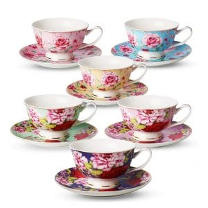 Brew To A Tea Tea Cups and Saucers