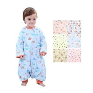 GEX Baby Sleep Sack 100% Cotton Wearable Blanket