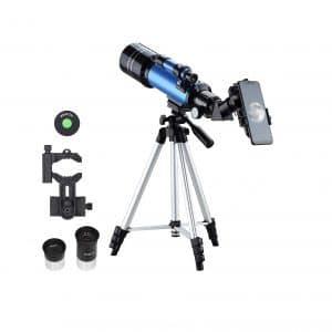 AOMEKEI Kids Travel Telescope 70mm