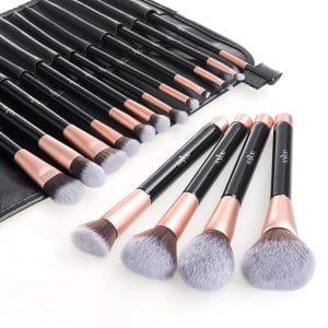 Anjou Makeup Brush Set, 16Pcs