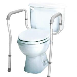 Carex Toilet Safety Frame – Easy Installation with an Adjustable Width
