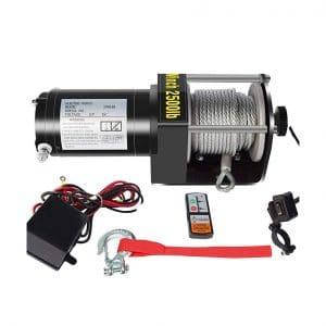 DCFlat 12V Electric Winch