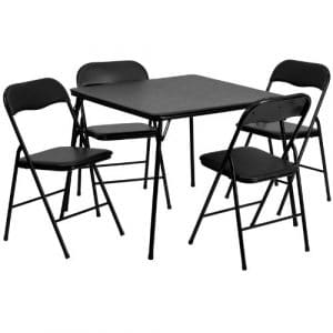 Flash Furniture Folding Table & Chair Set