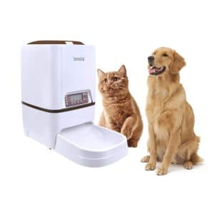Iseebiz Automatic Dog and Cat Feeder