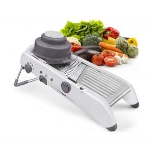 KARIDGE Mandoline Slicer Stainless Steel Vegetable Slicer