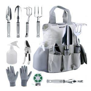 NOUVCOO 10 Pcs Women Men Garden Tools Set