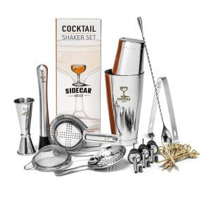 Sidecar Mixology Cocktail Shaker