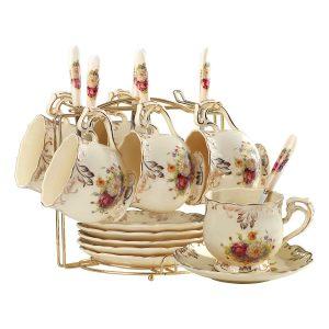 YOLIFE Flowering Shrubs Tea Cups