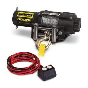 Champion 3000-lb ATV/UTV Winch Kit