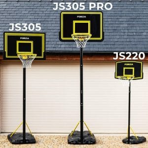FORZA Adjustable and Portable 3 Sizes Basketball Hoop