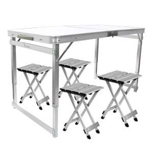 Fine Top 10 Best Folding Table And Chair Sets In 2019 Reviews Andrewgaddart Wooden Chair Designs For Living Room Andrewgaddartcom