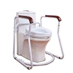 H HUKOER Toilet Safety Frame for the Elderly