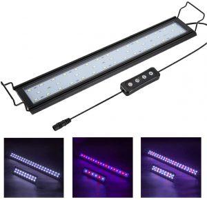 Hygger LED Aquarium Lights RGB Adjustable