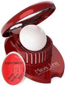 MEVIS LINE Egg Slicer, ideal for Strawberries, Mozzarella Balls