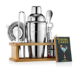 Modern Mixology Bartender Kit with Stand