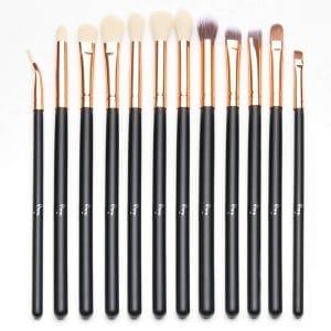 Qivange Eye Brush Set Makeup Brushes