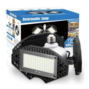 ZJOJO LED Garage Lights, 7200 Lumens
