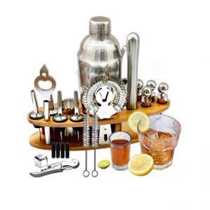 AYAOQIANG 23-Pieces Cocktail Shaker Bar Set