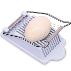 Anwenk Egg Slicer with Stainless Steel Wires