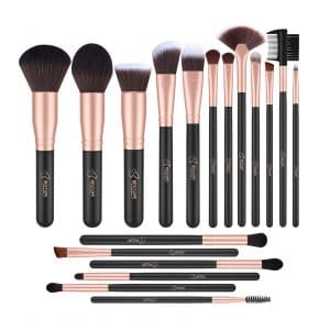 BESTOPE Makeup 18 Pieces Brushes