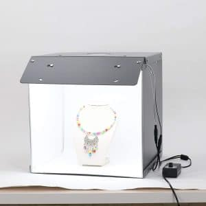 ComXim Foldable Portable Photo Studio with LED Light