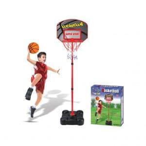 HMANE Children Adjustable Height Basketball Hoop