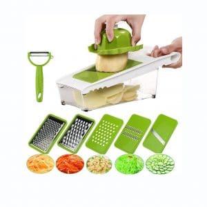 JTONG Mandoline Slicer Vegetables Cutter Chopper