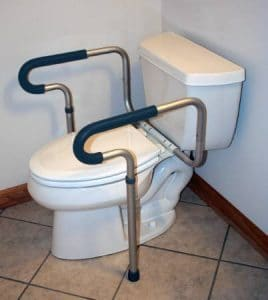 MCKESSON Safety Toilet Frame