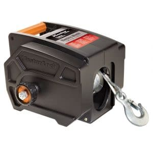 Master Electric Winch, Portable 12-V DC Winch